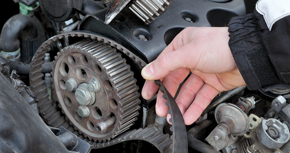 Image of a working timing belt system - Timing Belts Horndean