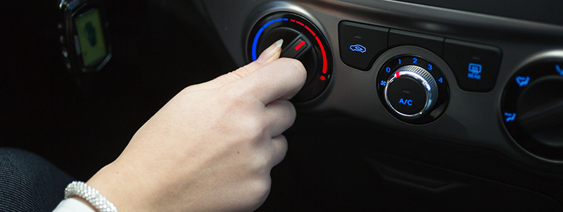 A/C Button - Car Air Conditioning Horndean